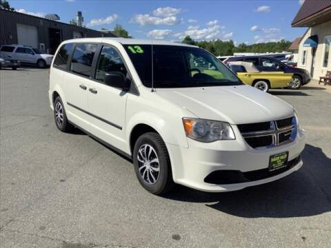 2013 Dodge Grand Caravan for sale at SHAKER VALLEY AUTO SALES in Enfield NH