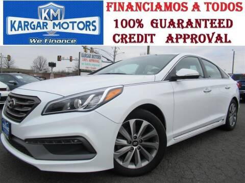 2017 Hyundai Sonata for sale at Kargar Motors of Manassas in Manassas VA