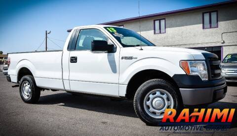 2013 Ford F-150 for sale at Rahimi Automotive Group in Yuma AZ