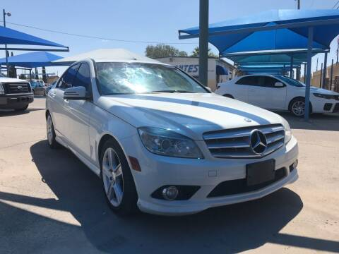 2010 Mercedes-Benz C-Class for sale at Autos Montes in Socorro TX