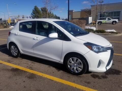 2015 Toyota Yaris for sale at QUEST MOTORS in Englewood CO