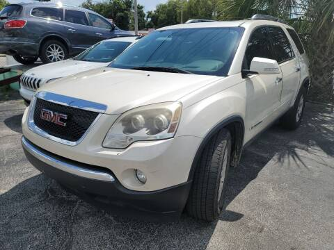 2008 GMC Acadia for sale at Castle Used Cars in Jacksonville FL