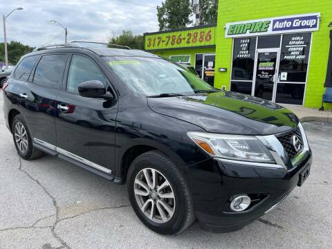 2014 Nissan Pathfinder for sale at Empire Auto Group in Indianapolis IN