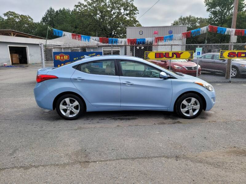 2013 Hyundai Elantra for sale at B & R Auto Sales in N Little Rock AR