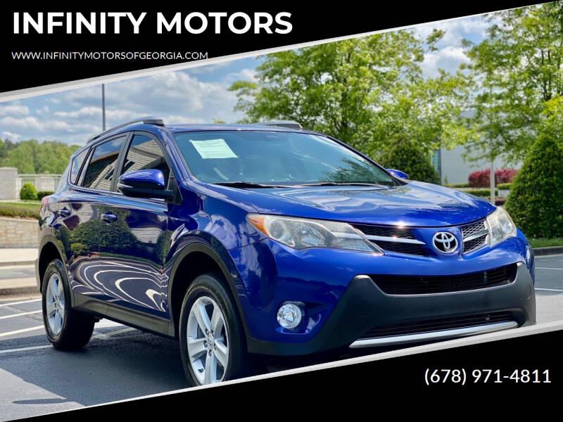 2014 Toyota RAV4 for sale at INFINITY MOTORS in Gainesville GA