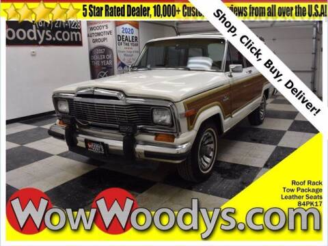 1984 Jeep Grand Wagoneer for sale at WOODY'S AUTOMOTIVE GROUP in Chillicothe MO