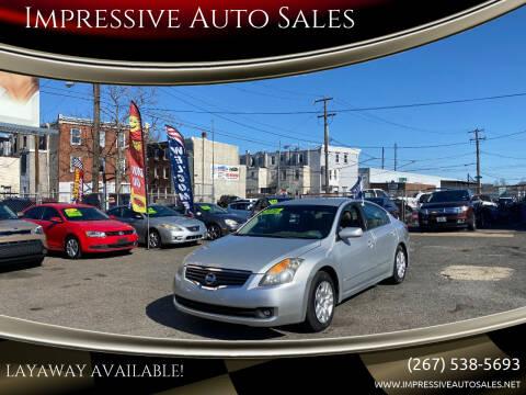 2009 Nissan Altima for sale at Impressive Auto Sales in Philadelphia PA