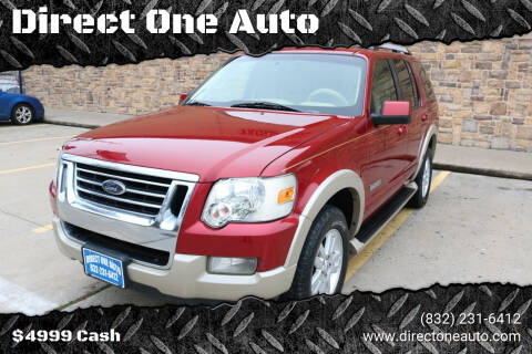 2006 Ford Explorer for sale at Direct One Auto in Houston TX