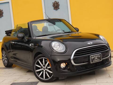 2017 MINI Convertible for sale at Paradise Motor Sports LLC in Lexington KY