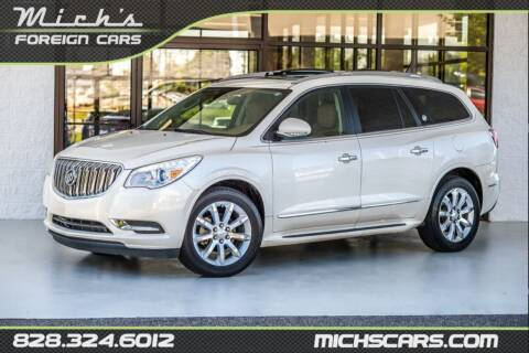 2014 Buick Enclave for sale at Mich's Foreign Cars in Hickory NC