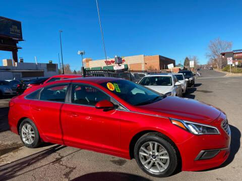 2017 Hyundai Sonata for sale at Sanaa Auto Sales LLC in Denver CO