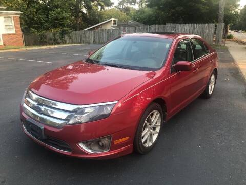 2010 Ford Fusion for sale at Deme Motors in Raleigh NC