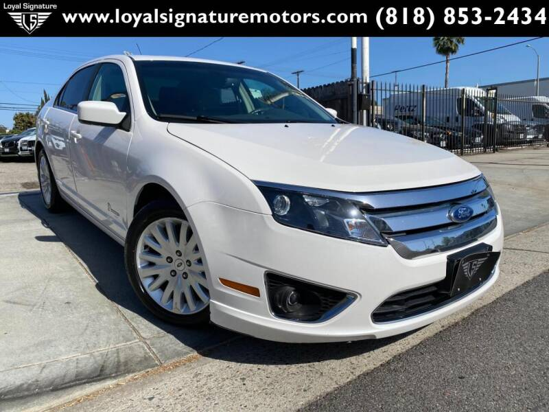 2011 Ford Fusion Hybrid for sale in Van Nuys, CA