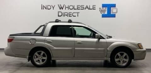 2003 Subaru Baja for sale at Indy Wholesale Direct in Carmel IN