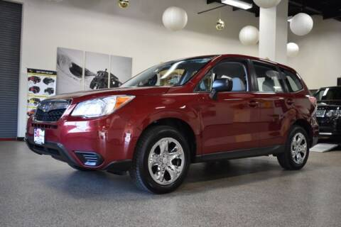 2014 Subaru Forester for sale at DONE DEAL MOTORS in Canton MA