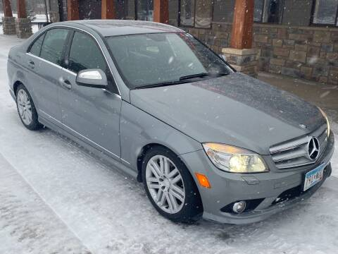 2009 Mercedes-Benz C-Class for sale at Affordable Auto Sales in Cambridge MN