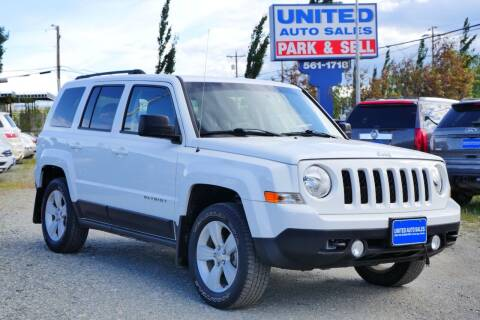 2016 Jeep Patriot for sale at United Auto Sales in Anchorage AK