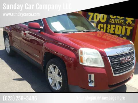 2011 GMC Terrain for sale at Sunday Car Company LLC in Phoenix AZ