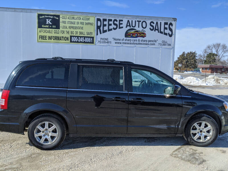 2008 Chrysler Town and Country for sale at Reese Auto Sales in Pocahontas IA
