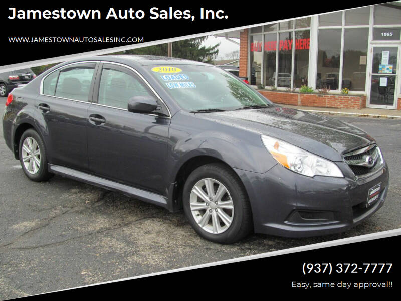 2010 Subaru Legacy for sale at Jamestown Auto Sales, Inc. in Xenia OH
