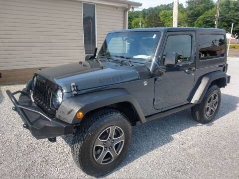 2016 Jeep Wrangler for sale at Wholesale Auto Inc in Athens TN