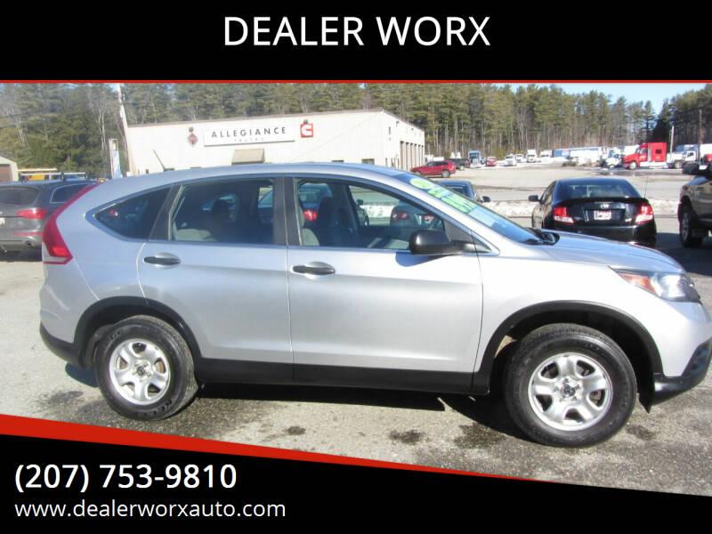 2013 Honda CR-V for sale at DEALER WORX in Auburn ME