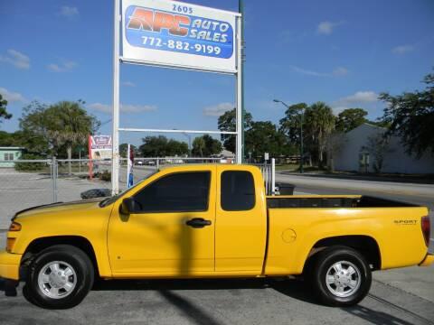 2006 Chevrolet Colorado for sale at APC Auto Sales in Fort Pierce FL