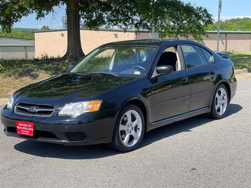 2006 Subaru Legacy for sale at Real Deal Auto in Fredericksburg VA