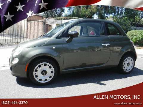 2012 FIAT 500 for sale at Allen Motors, Inc. in Thousand Oaks CA