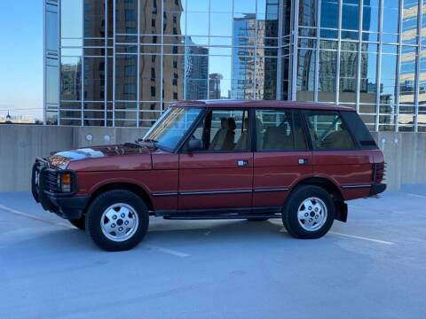 1993 Land Rover Range Rover for sale at Motor Co in Atlanta GA