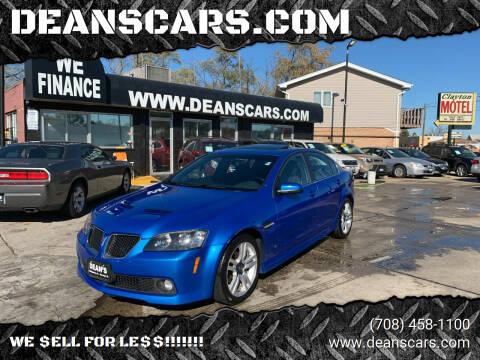 2009 Pontiac G8 for sale at DEANSCARS.COM in Bridgeview IL