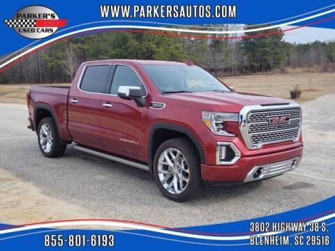 2019 GMC Sierra 1500 for sale at Parker's Used Cars in Blenheim SC