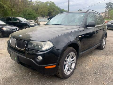 2007 BMW X3 for sale at ATLANTA AUTO WAY in Duluth GA