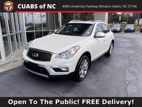 2017 Infiniti QX50 for sale at Summit Credit Union Auto Buying Service in Winston Salem NC