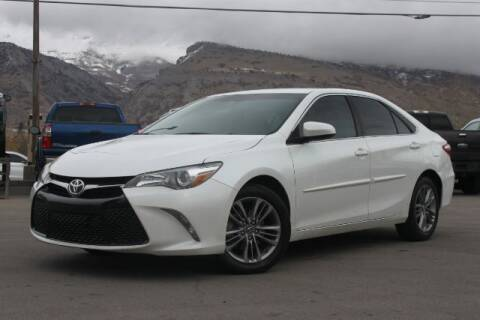 2017 Toyota Camry for sale at REVOLUTIONARY AUTO in Lindon UT