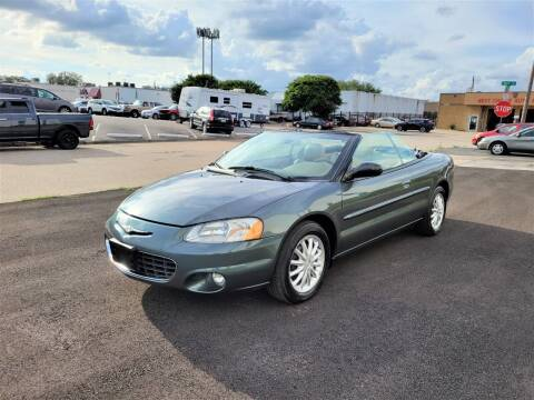 2003 Chrysler Sebring for sale at Image Auto Sales in Dallas TX