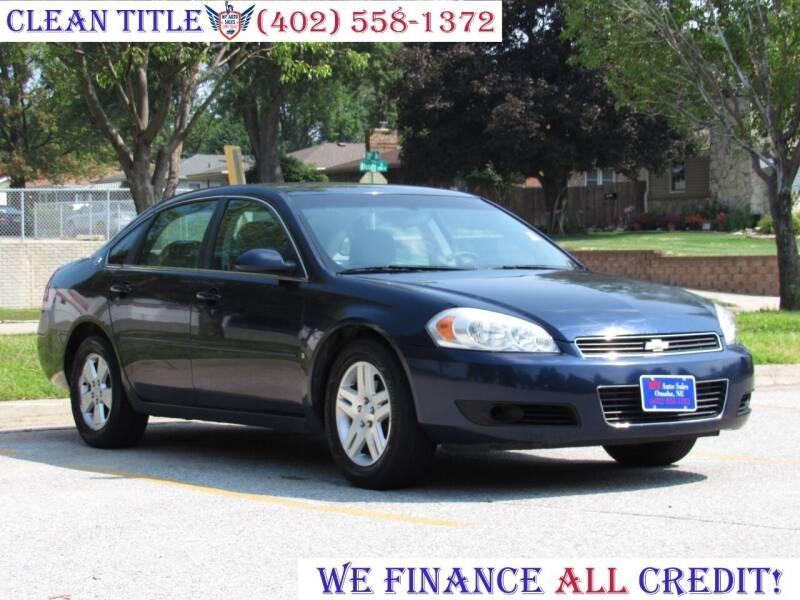 2008 Chevrolet Impala for sale at NY AUTO SALES in Omaha NE