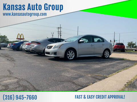 2010 Nissan Sentra for sale at Kansas Auto Group in Wichita KS