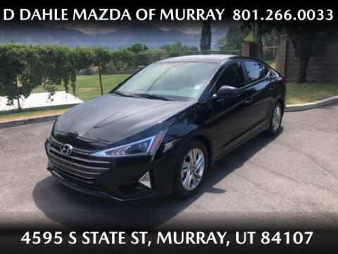 2019 Hyundai Elantra for sale at D DAHLE MAZDA OF MURRAY in Salt Lake City UT