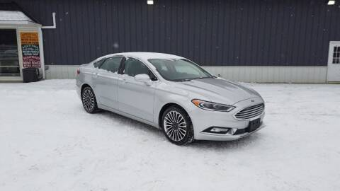 2018 Ford Fusion for sale at RS Motors in Falconer NY
