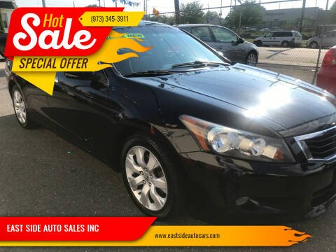 2010 Honda Accord for sale at EAST SIDE AUTO SALES INC in Paterson NJ