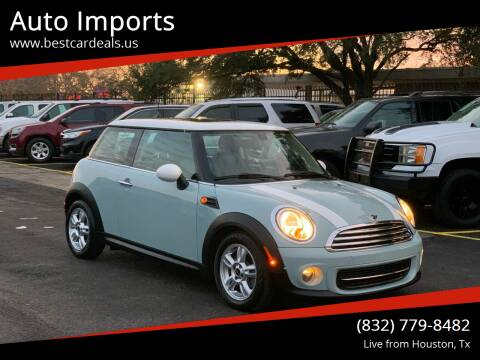 2013 MINI Hardtop for sale at Auto Imports in Houston TX