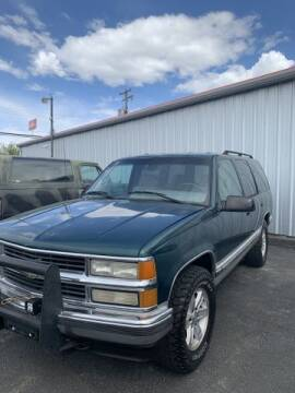 1995 Chevrolet Tahoe for sale at Cars 4 Idaho in Twin Falls ID
