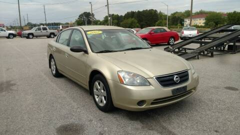 2002 Nissan Altima for sale at Kelly & Kelly Supermarket of Cars in Fayetteville NC