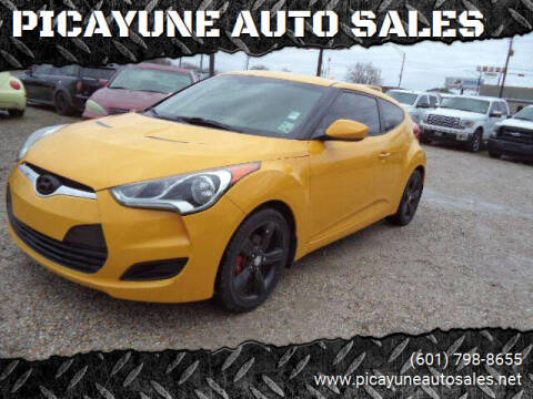 2013 Hyundai Veloster for sale at PICAYUNE AUTO SALES in Picayune MS