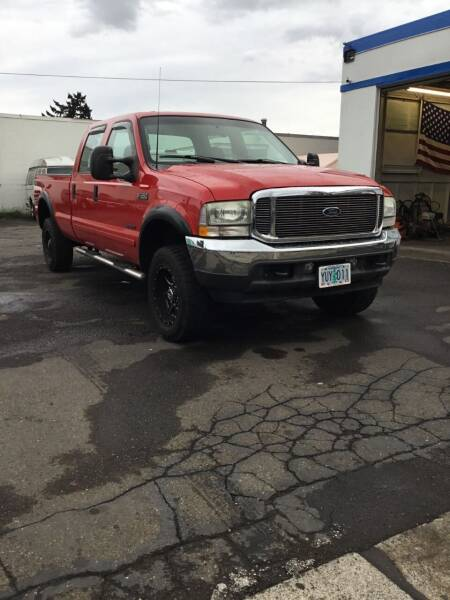 2002 Ford F-350 Super Duty for sale at Longoria Motors in Portland OR
