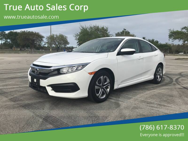2018 Honda Civic for sale at True Auto Sales Corp in Miami FL
