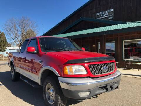 2001 Ford F-150 for sale at Coeur Auto Sales in Hayden ID