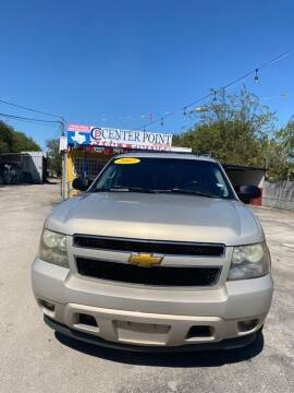 2007 Chevrolet Tahoe for sale at Centerpoint Motor Cars in San Antonio TX
