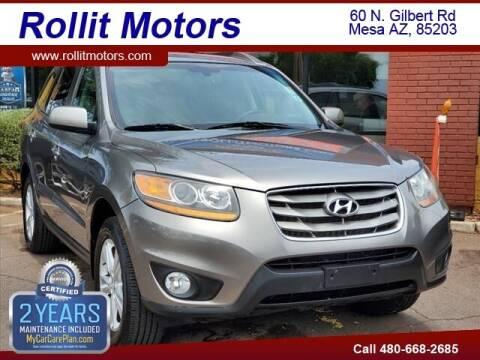 2011 Hyundai Santa Fe for sale at Rollit Motors in Mesa AZ
